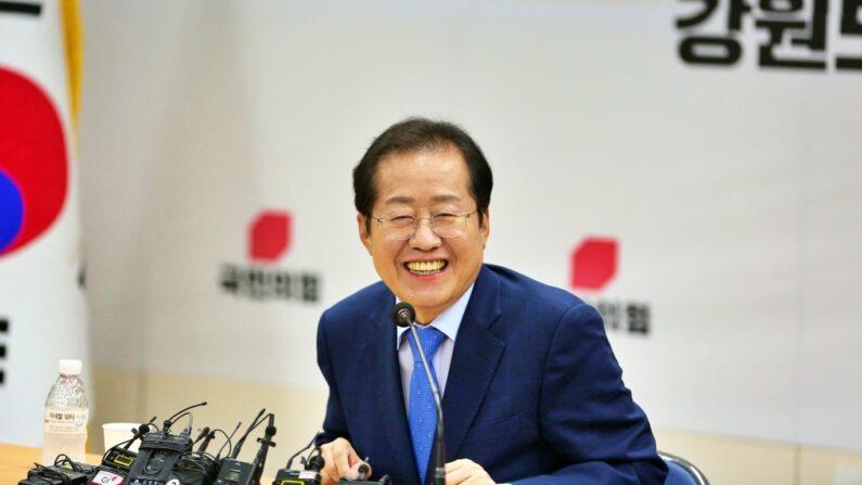 국민의힘 홍준표 의원(9월 6일, 강원도당 간담회)ㅣ캠프 제공