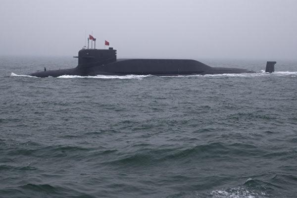 중국 094형 핵잠수함 | Mark Schiefelbein/POOL/AFP/연합