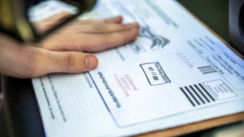 미국 우편투표용지 | Sergio Flores/Getty Images