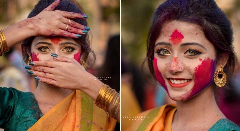 전 세계 0.1%만 가지고 있다는 '황금 눈동자'의 인도 소녀