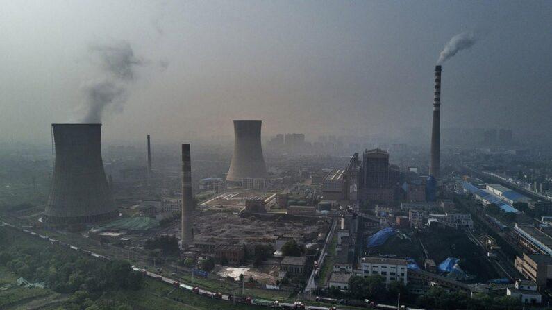 중국 하이난성의 석탄화력발전소 | Kevin Frayer/Getty Image