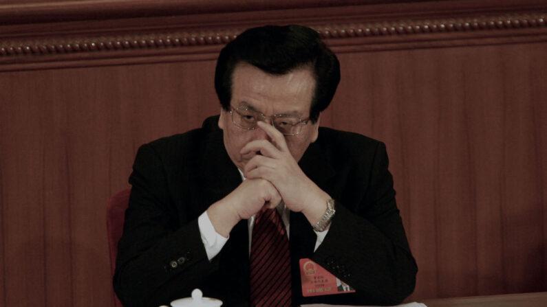 쩡칭훙 전 중국 국가 부주석. 고령인 장쩌민을 대신해 당내 주요 계파인 상하이방 수장 노릇을 하는 것으로 알려졌다.   Cancan Chu/Getty Images