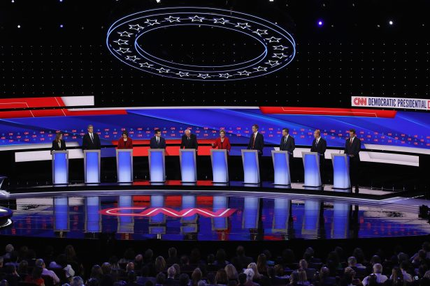 democrats at debate