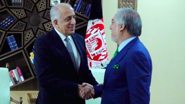 Zalmay Khalilzad and Abdullah Abdullah 2