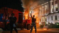 """""""흑인 생명도 소중(BLM) 시위 중 수백 건은 폭력·약탈 벌어진 폭동"""" 美 보고서"""