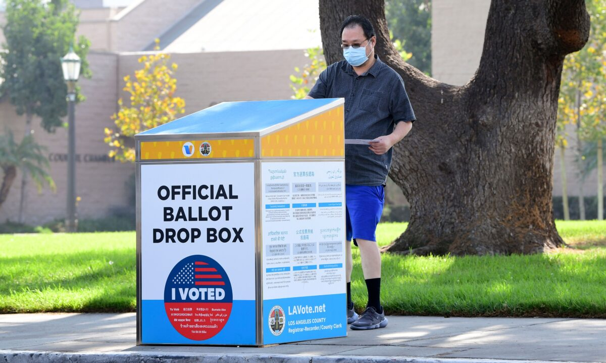 Vote by Mail Drop Box