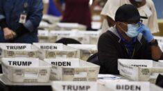 """""""새것 같은 투표지 뭉치 발견…98%는 바이든 표"""" 미 선거사무원 진술"""