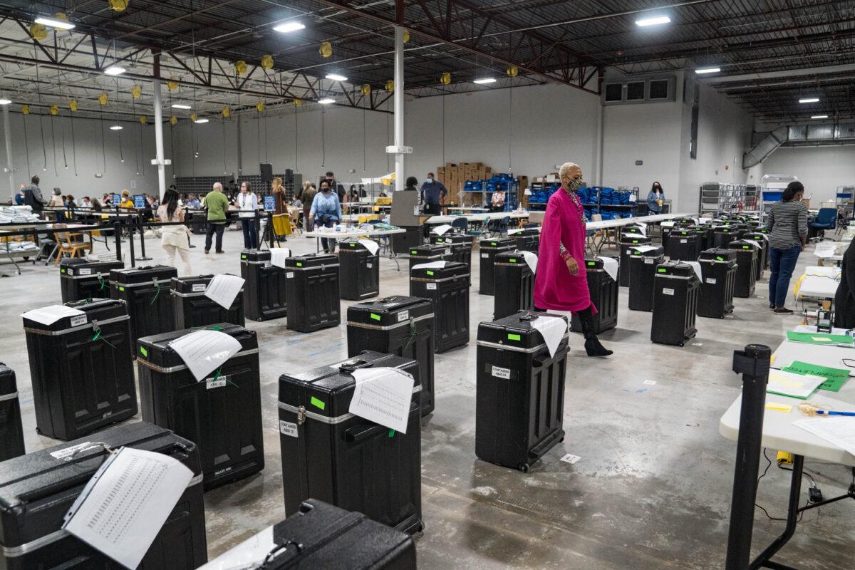 美 조지아주 부재자 투표함 관리문서 실종, 주정부 조사 착수