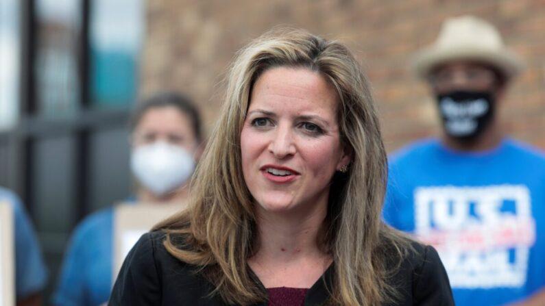 민주당 소속인 조슬린 벤슨 미시간 주무장관 | Rebecca Cook/Reuters=연합