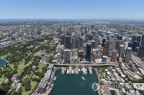 지난달 호주 주택값 상승률 17년여만의 최고 기록