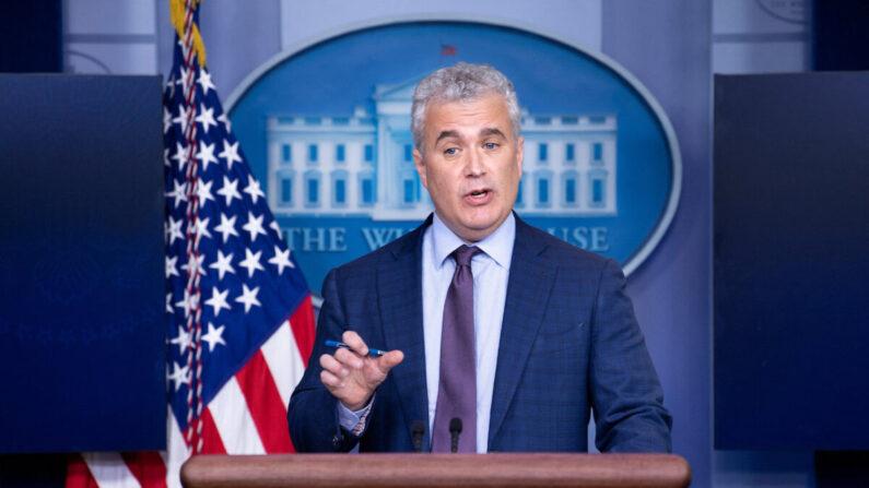제프 자이언츠 미 백악관 코로나19 대응 조정관   Brendan Smialowski/AFP via Getty Images/연합
